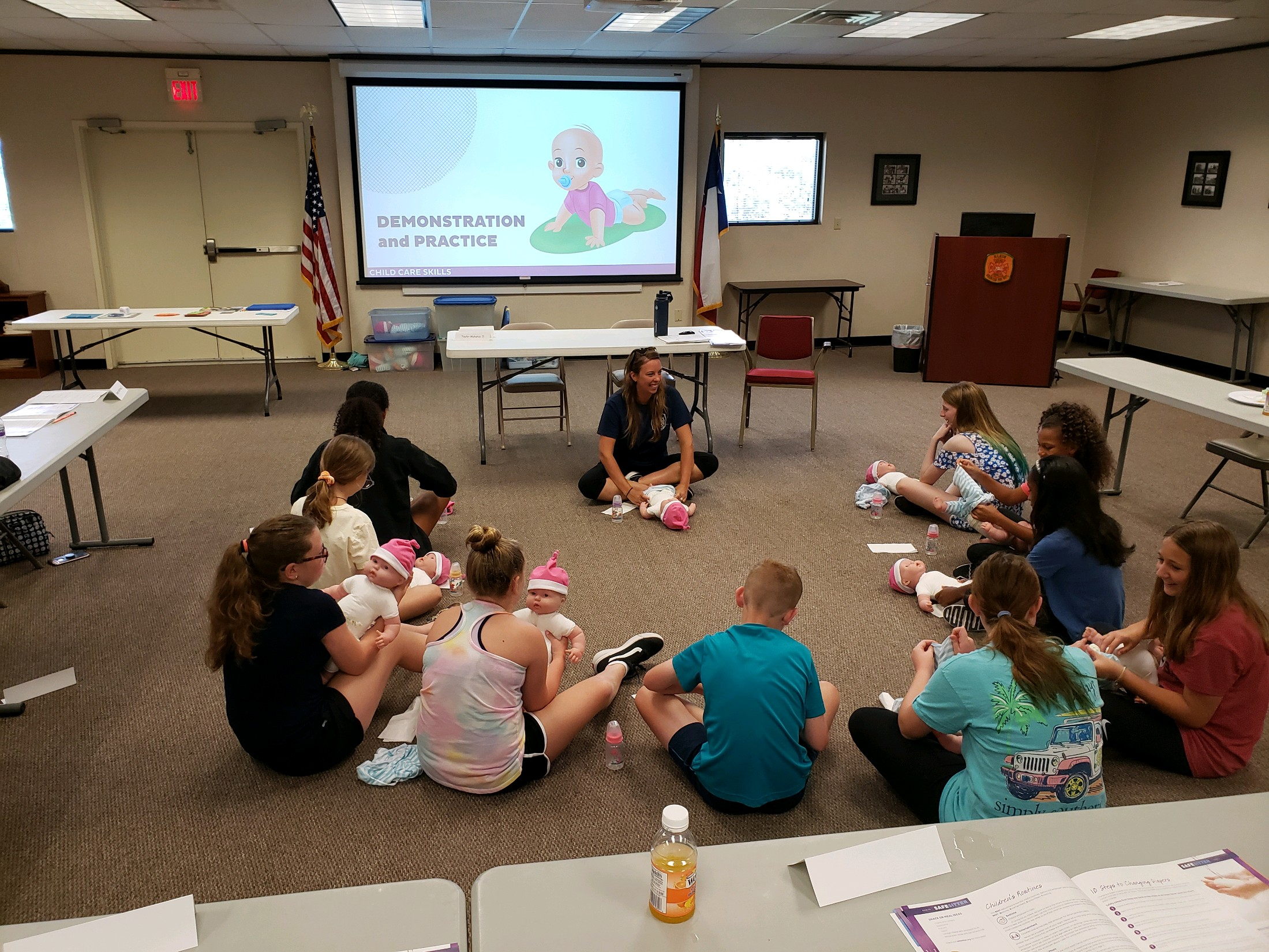 Klein VFD helps keep children safe with Safe at Home and Safe Sitter courses